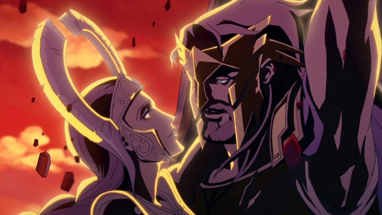 Download Blood of Zeus | Zeus and Hera (Sacrifice Scene)