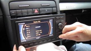 Audi A3, A4, A5, A6 RNS-E iPod iPhone AUX adapter