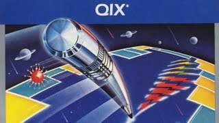 Classic Game Room - QIX for Atari 5200 review