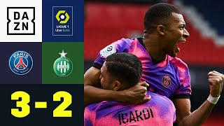 Später Wahnsinn! Mbappé doppelt, Icardi in letzter Sekunde: PSG - St. Étienne 3:2 | Ligue 1 | DAZN