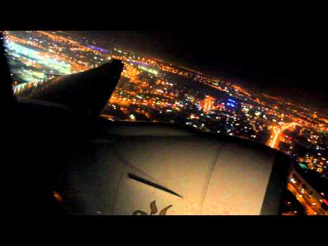 [Night] Emirates Take off Dubai | Boeing 777-300ER A6-EBZ | 20.06.2013 [WATCH IN FULL HD]