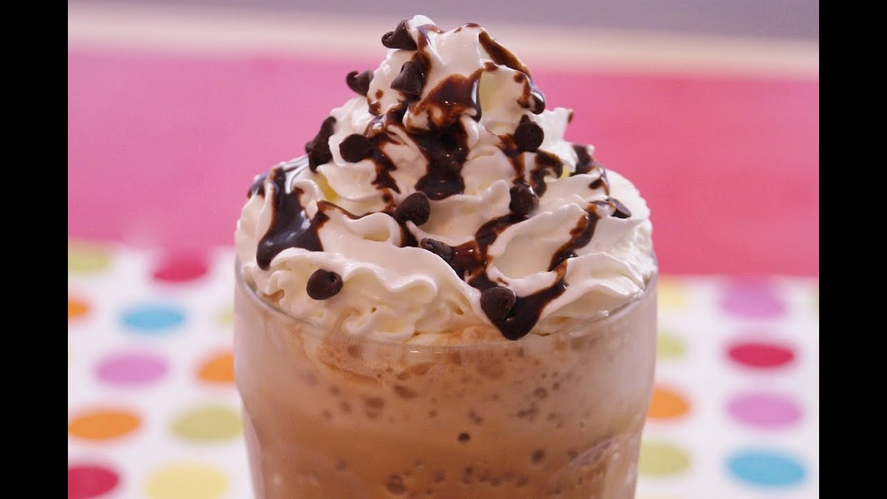 How To Make Starbucks Frappuccino Double Chocolate Chip