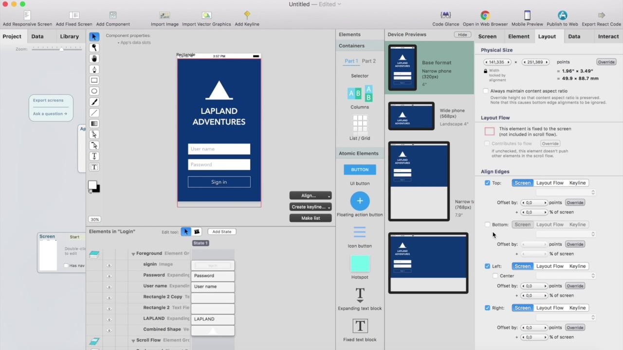 Importing Sketch design to React Studio