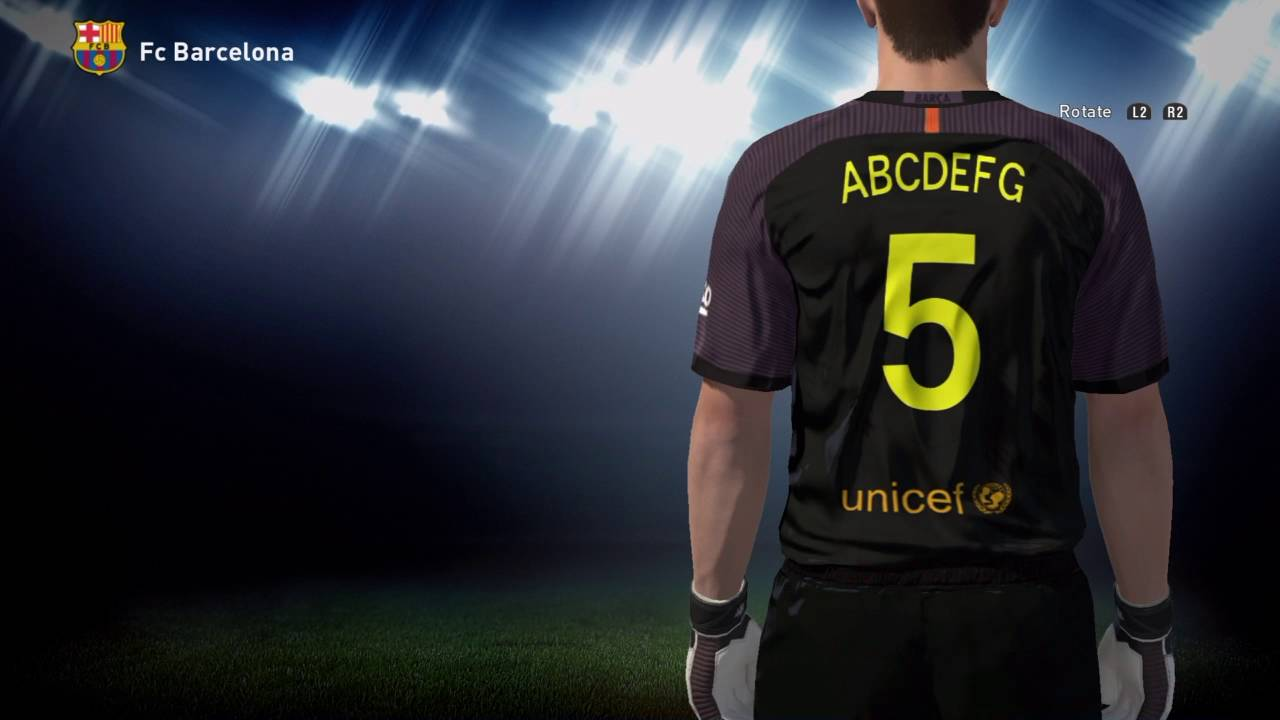 hot sale online fb938 70918 20 sub special - how to get Barcelona kit 2016 Pes 2016 ps4 (link in  description)