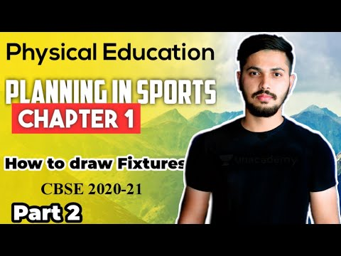 Planning in Sports - How to draw Fixtures | Unit 1 | Physical Education Class 12 2020-21 CBSE PART 2