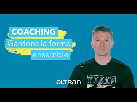 Altran@home - Coaching 3 : s'étirer en douceur