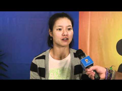 Li Na postmatch interview - Australian Open 2011