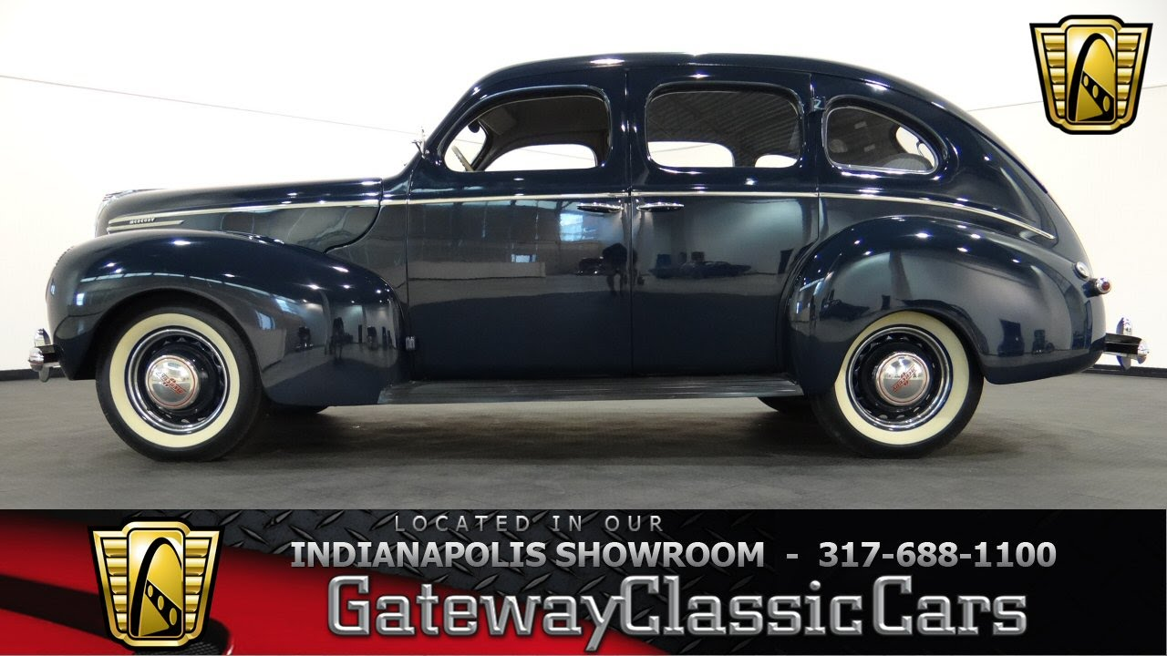Cars For Sale Indianapolis >> 1939 Mercury Eight 4-Door Sedan - Gateway Classic Cars Indianapolis - #386-NDY - YouTube