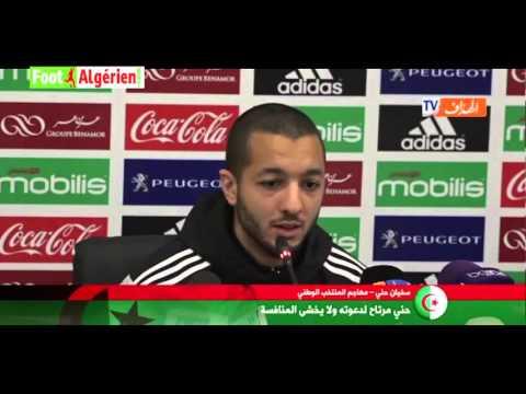 """Sofiane Hanni : """"Fier de faire partie de la sélection algérienne"""""""