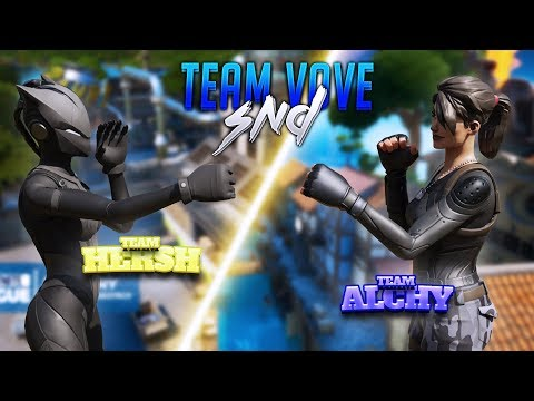 Team Vove ONLY Fortnite SEARCH And DESTROY!