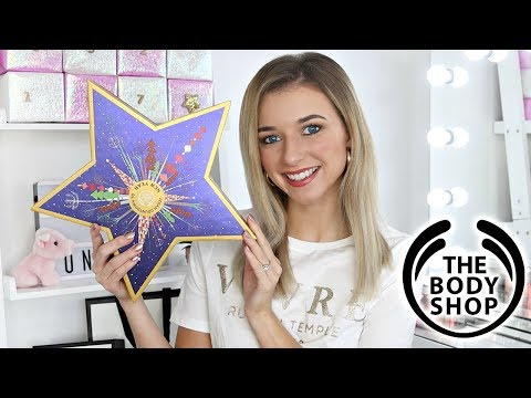 THE BODY SHOP NEW YEAR ADVENT CALENDAR 2018 / *WORTH IT?*