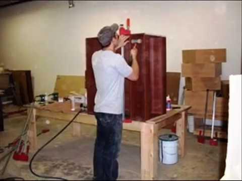 Armoires de cuisine fabrication de caissons ou de modules youtube - Fabriquer caisson armoire ...