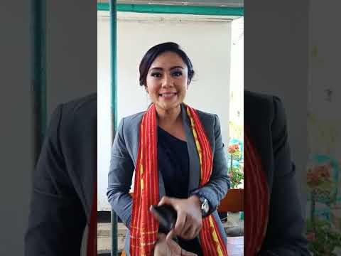 Deklarasi anti hoax dan dukung pilkada damai presenter TV one BRIGITHA MANOHARA