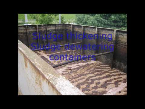 Sewage treatment plants different types
