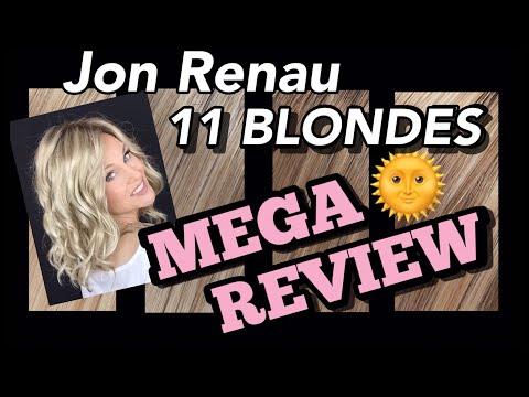 Jon Renau BLONDES 💥MEGA REVIEW💥 11 BLONDES Try On! | California Blondes | HUGE Comparison