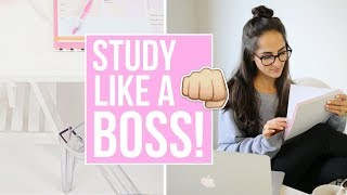 How To Create A Homework Routine And Study LIKE A BOSS!