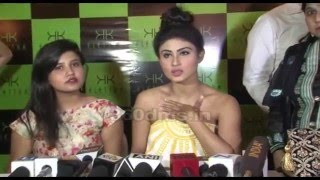 NAAGIN Actress Mouni Roy Seems Uncomfortable In Her SEXY Strapless Outfit