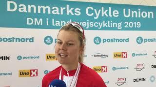 Amalie Dideriksen om DM-guld 2019