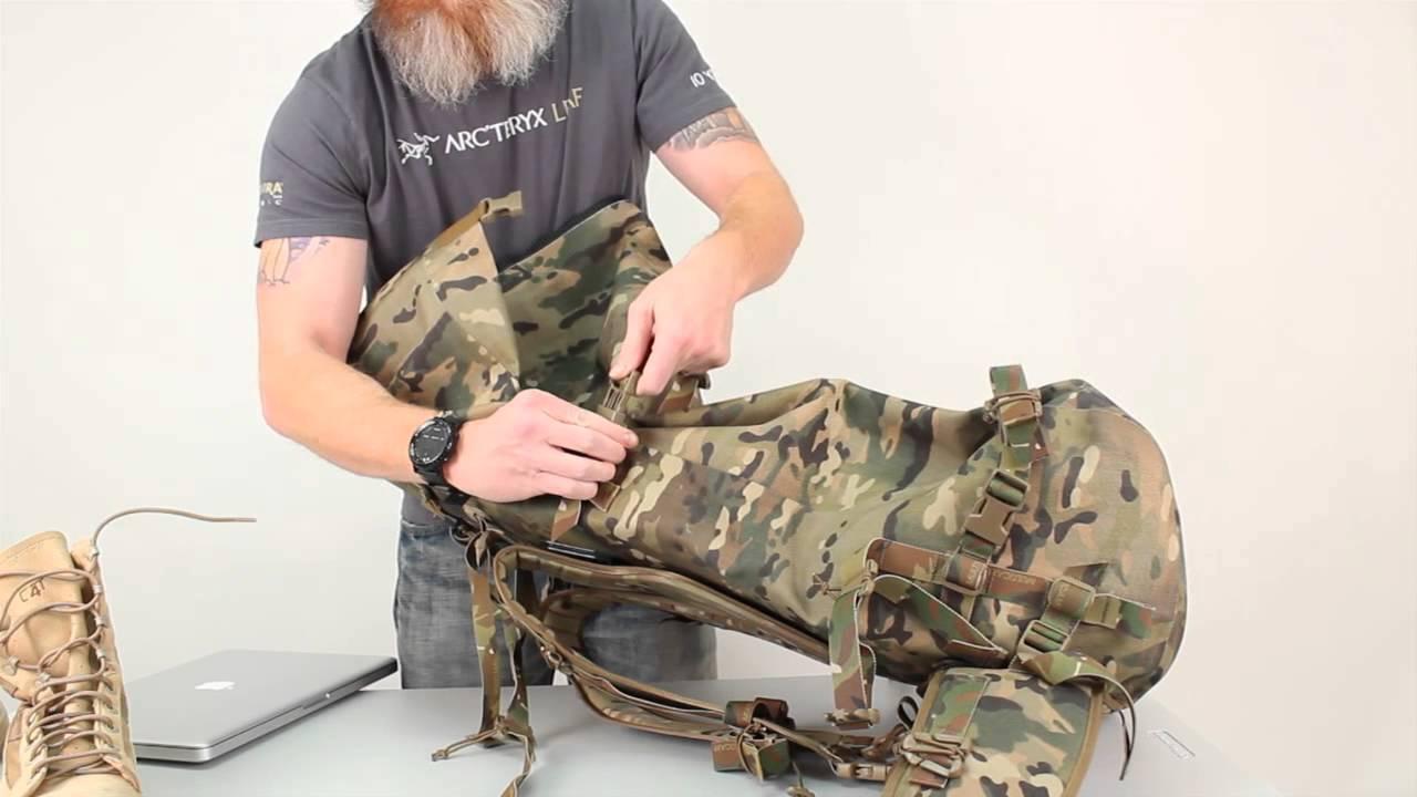 581789d346f Arc'teryx LEAF 70L DryPack | TD Product Demo - YouTube