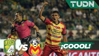¡Goool de Sansores! Tras remate letal | León 1 - 1 Morelia | Liga Mx  AP 19  Cuartos de final | TUDN