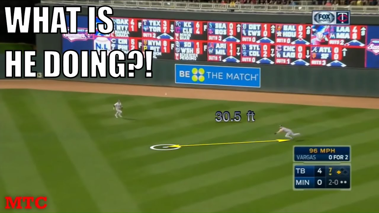 MLB Worst Diving Catch Attempts Compilation