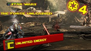 #4 | Star Wars The Force Unleashed | Unlimited Energy