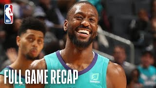 TIMBERWOLVES vs HORNETS   Kemba Goes For 31 Points   March 21, 2019