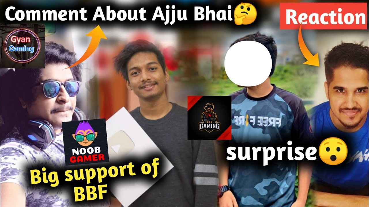 Gyan Gaming comment about Total Gaming || Desi Gamer reaction on BB || Noob gamer BBF Big support