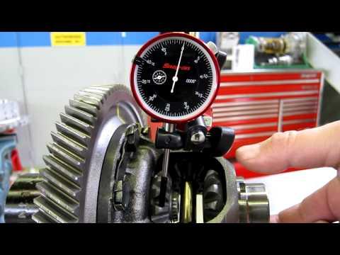 Differential Side Gear Backlash Measurement