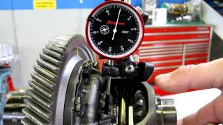 Differential Side Gear Backlash Measurement