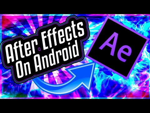 descargar adobe after effects para android