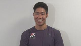休養の競泳・萩野が練習再開  東京五輪金メダルに意欲