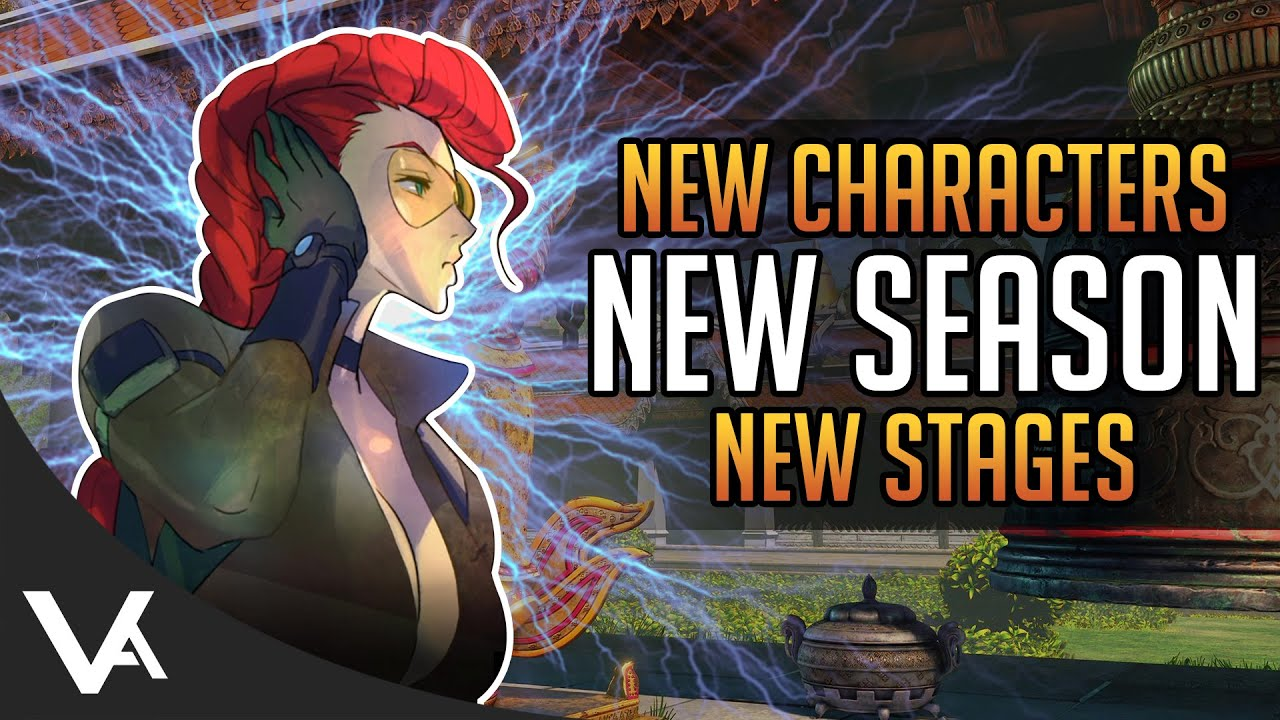 Huge News New Characters Stages Final Season V Street Fighter
