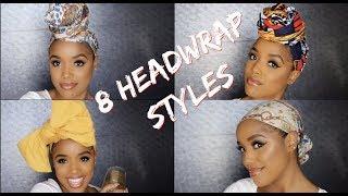 8 Easy Head Wrap Styles | Ellarie