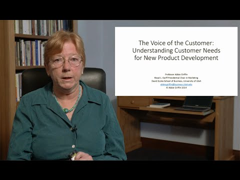Voice of the Customer: Abbie Griffin Lecture