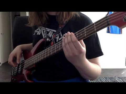 Opeth - The Funeral Portrait (bass Cover)