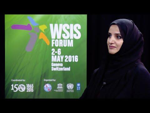 WSIS FORUM 2016 INTERVIEW: Dr Aisha Bin Bishr , Director General, Dubai Smart City Office, UAE