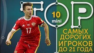 Мини-ТОП-10 самых дорогих игроков до 21 года