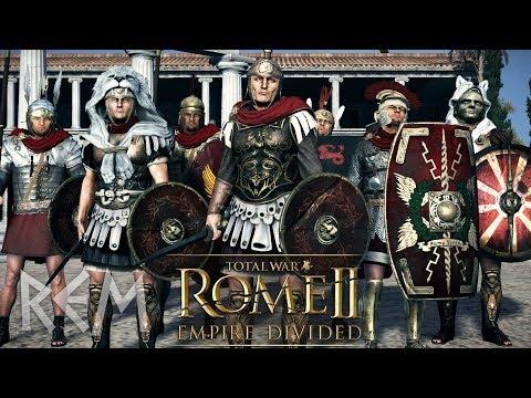 РИМ - На грани войны за Экспансию Глобальная Модификацией REM к Total War: Rome 2