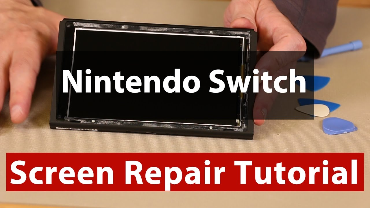 Nintendo Switch LCD Screen Problems - Your Screen is Fixable