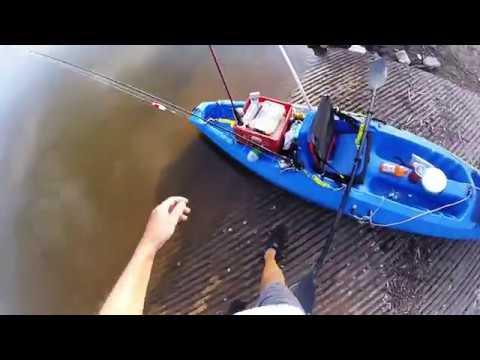 OKC River  Kayak Fishing 7 15 17