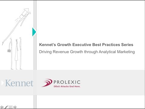 Best Practice Executive Briefing   Driving Revenue Growth Through Analytical Marketing 20121213 1814