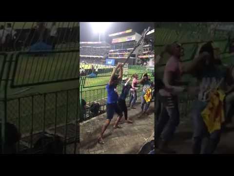 Srilanka fans nagin dance snake dance after India vs Bangladesh t20 final match