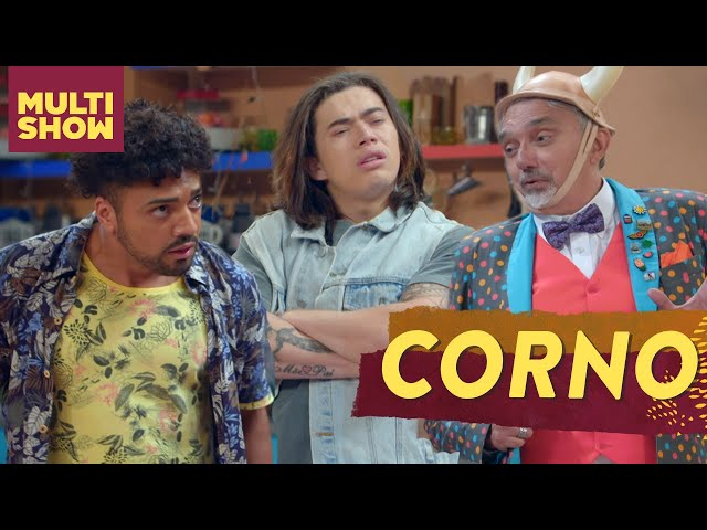 Os Roni vão participar de um CONCURSO DE CORNOS! | Os Roni | Humor Multishow