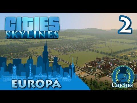Cities Skylines - Europa - Distrito Agrícola -  #2 en español