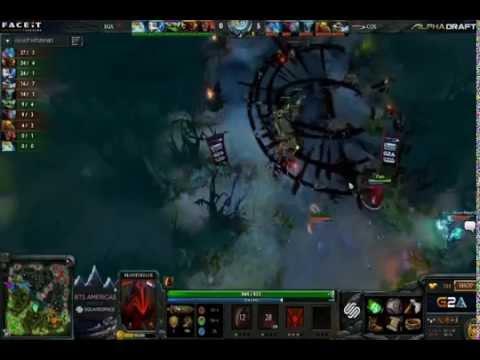 fastest dota 2 game in pro scene gg in 6 minutes youtube