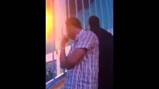 مناصر بلعباسي يبكي بحرقة بعد سقوط فريقه للدرجة 2