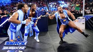 The New Day Vs Heath Slater Titus O Neil Curtis Axel SmackDown November 28 2014