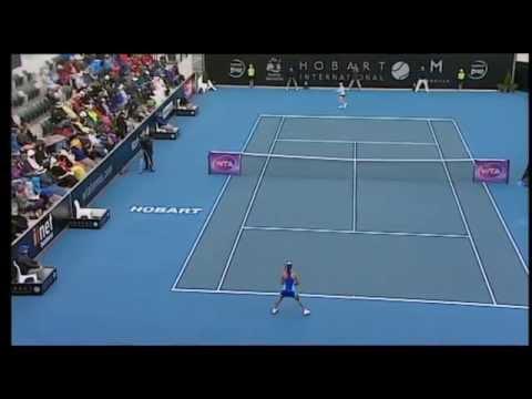 Heather Watson v Madison Brengle: Match Highlights (Final) - Hobart International 2015