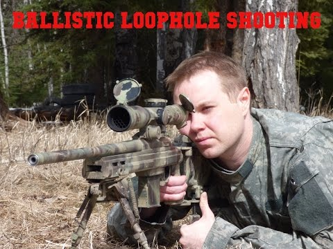 Secret Sniper Technique Revealed: Ballistic Loophole Shooting